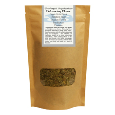 Organic Herbal Blend - Balancing Bleus aromatherapy, herbal blends, botanical blends, organic, all natural, vaporbrothers, vapor bros, herb,
