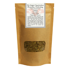 Organic Herbal Blend - Sweetly Calming aromatherapy, herbal blends, botanical blends, organic, all natural, vaporbrothers, vapor bros, herb,