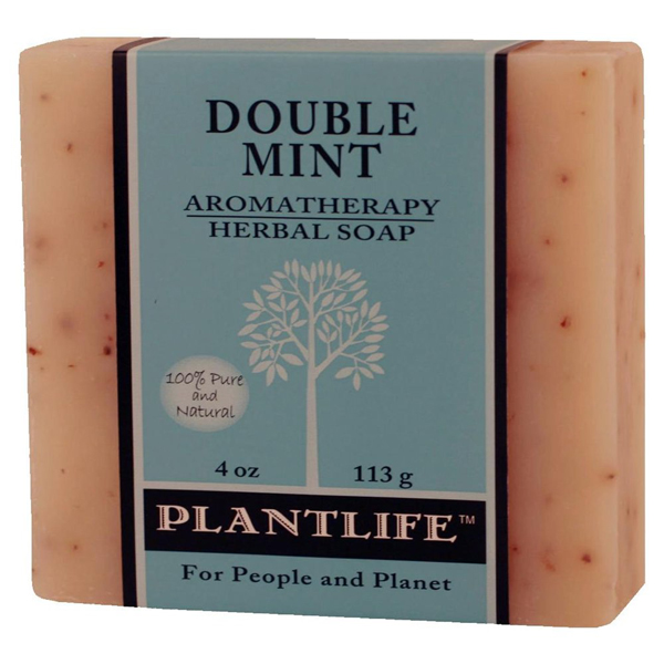Plantlife Soap - Double Mint aromatherapy, soap, all natural, triclosan free, essential oils, natural soap, plant based soap, castile soap, double mint,