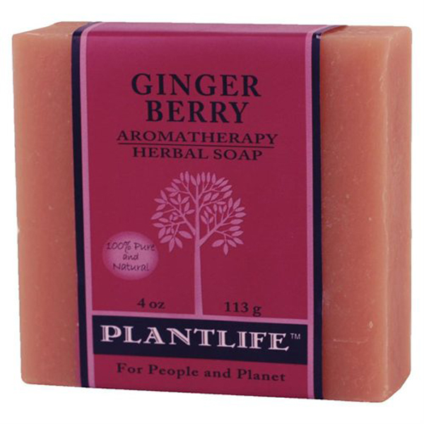 Plantlife Soap - Ginger Berry aromatherapy, soap, all natural, triclosan free, essential oils, natural soap, plant based soap, castile soap, ginger berry,