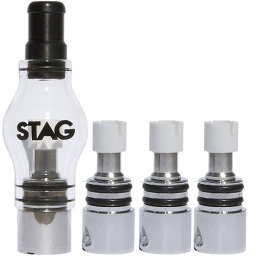 DSC: Stag Glass Globe Attachment Kit - stag-vaporizer-glass-globe-kit