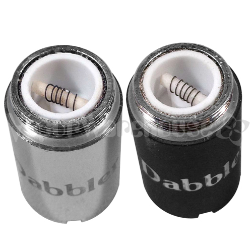 Dabbler Ceramic Core Skillet Cartridge - Chrome (aka Silver) Only - 9110-VPDVA1S