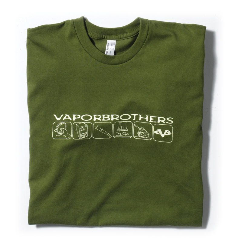 Vaporbrothers Shirt vaporbrothers, vapor bros, american apparel, made in the usa, vape wear, vape shirt,