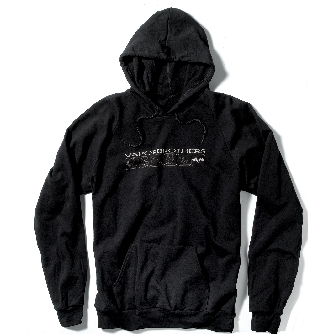 Vaporbrothers Hoodie vaporbrothers, vapor bros, american apparel, made in the usa, vape wear, vape shirt, sweatshirt, hoodie,