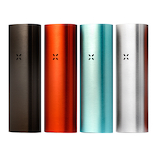 Pax 2 Vaporizer in Black, Red, Blue and Silver