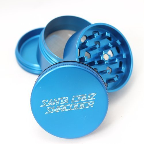 Santa Cruz Shredder - Medium 4 Piece santa cruz, santa cruz shredder, shredder, grinder, sc shredder, grinders, 4 pc grinder, 4 peice grinder, medium grinder, medium shredder, pollen catcher, santa cruz grinder