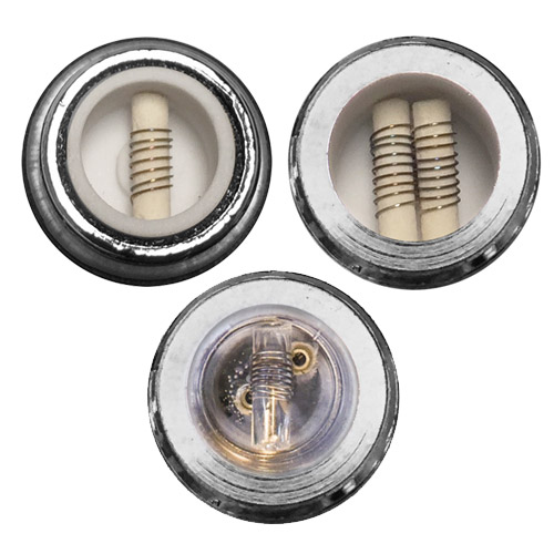 Single and Dual Coil Ceramic Cores and Single Coil Quartz Skillet Heaters