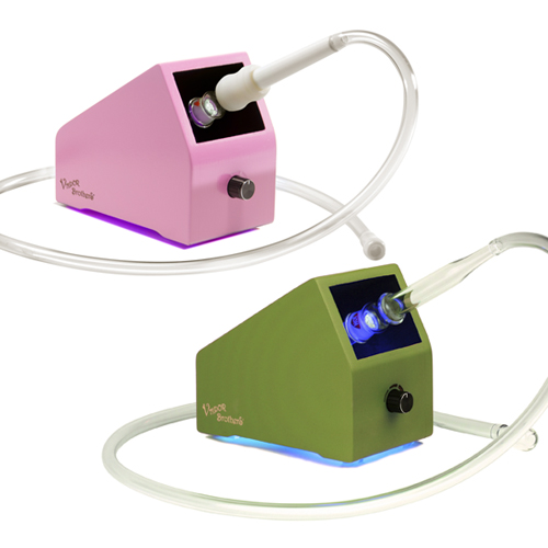 Vaporbrothers Color Series Vaporizers Pink and Green