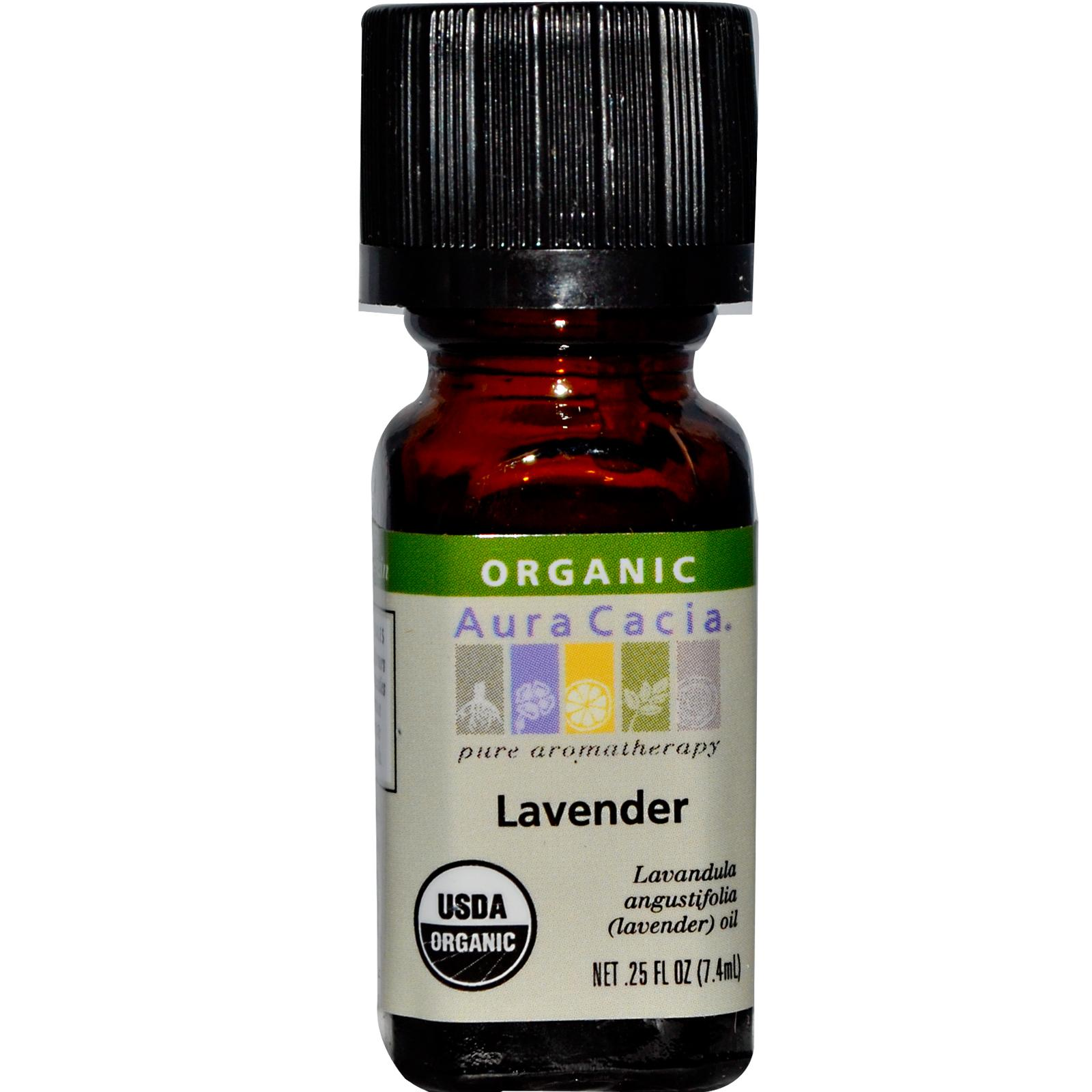 Organic Essential Oil - Aura Cacia - Lavender aromatherapy, essential oil, organic, all natural, aura cacia, certified, doTerra,  therapeutic grade, pure, lavender,