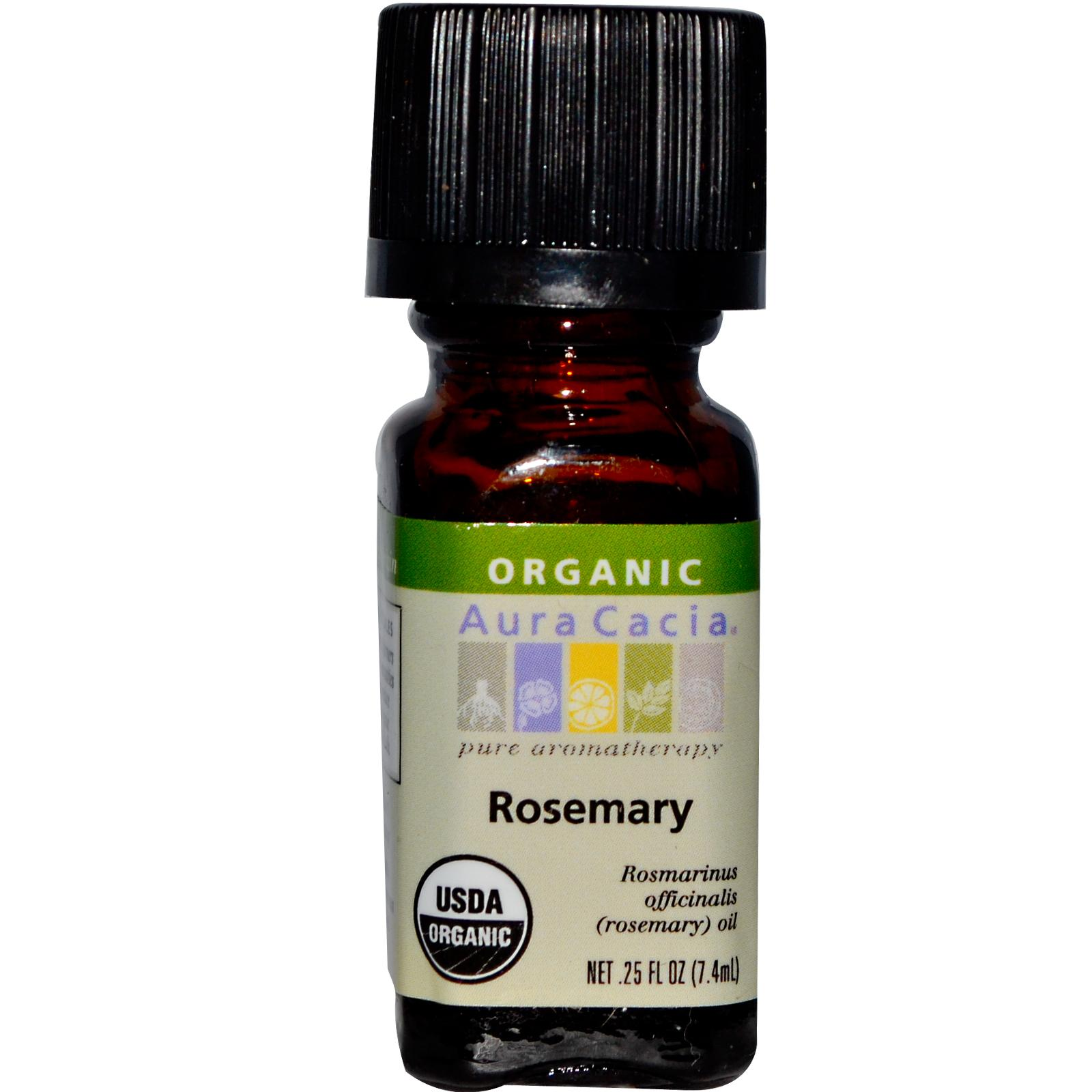 Organic Essential Oil - Aura Cacia - Rosemary aromatherapy, essential oil, organic, all natural, aura cacia, certified, doTerra,  therapeutic grade, pure, rosemary,