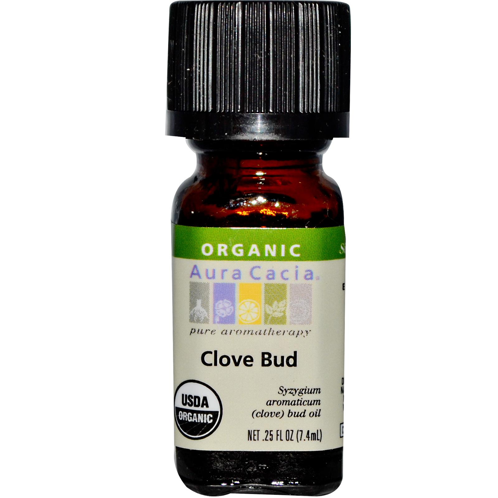 Organic Essential Oil - Aura Cacia - Clove Bud aromatherapy, essential oil, organic, all natural, aura cacia, certified, doTerra,  therapeutic grade, pure, clove bud,