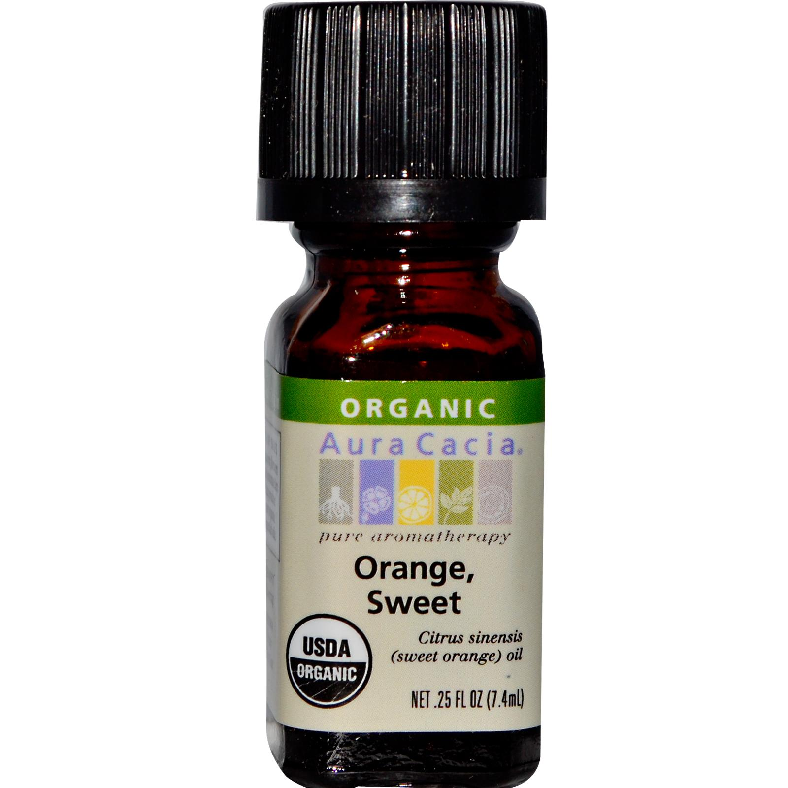 Organic Essential Oil - Aura Cacia - Orange aromatherapy, essential oil, organic, all natural, aura cacia, certified, doTerra,  therapeutic grade, pure, orange,