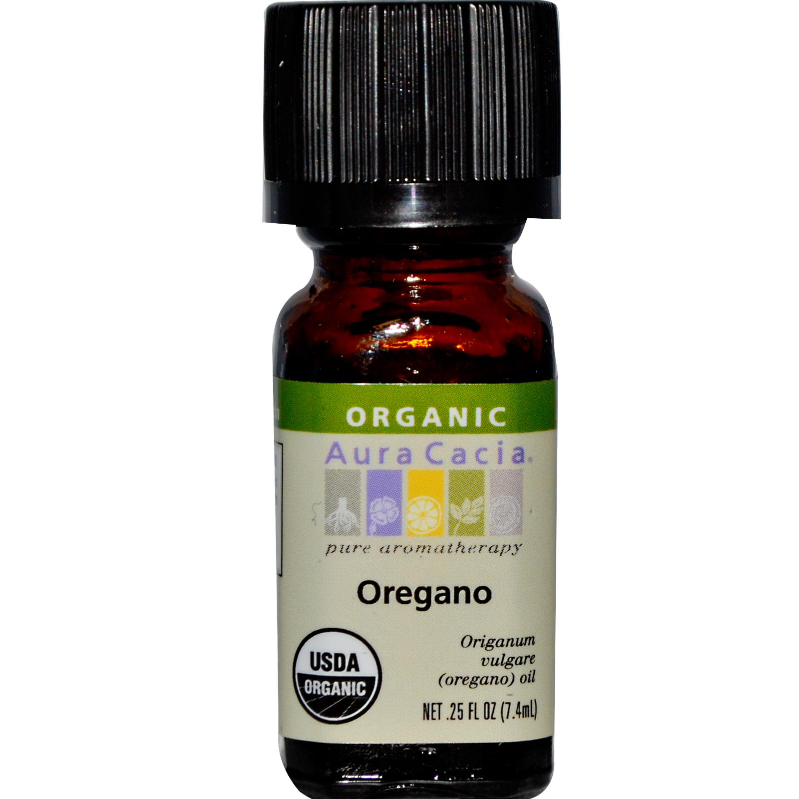 Organic Essential Oil - Aura Cacia - Oregano - 0.25 fl. oz. aromatherapy, essential oil, organic, all natural, aura cacia, certified, doTerra,  therapeutic grade, pure, oregano,