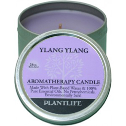 Plantlife Candle - Ylang Ylang aromatherapy, candles, all natural, petroleum free, essential oils, natural candles, plant based wax, ylang ylang,