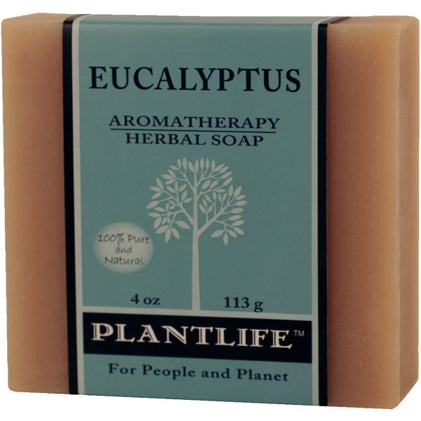 Plantlife Soap - Eucalyptus aromatherapy, soap, all natural, triclosan free, essential oils, natural soap, plant based soap, castile soap, eucalyptus,