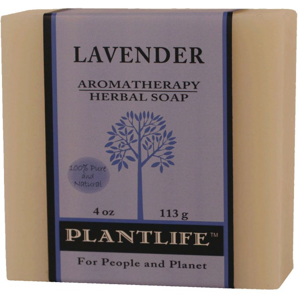 Plantlife Soap - Lavender aromatherapy, soap, all natural, triclosan free, essential oils, natural soap, plant based soap, castile soap, lavender,