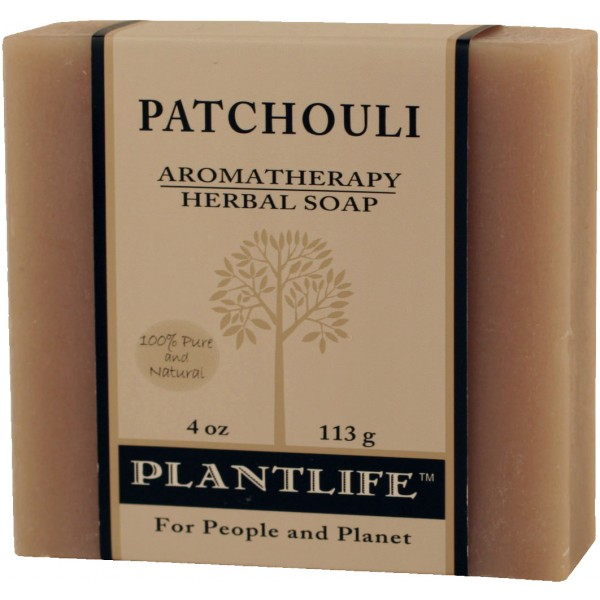 Plantlife Soap - Patchouli aromatherapy, soap, all natural, triclosan free, essential oils, natural soap, plant based soap, castile soap, patchouli,