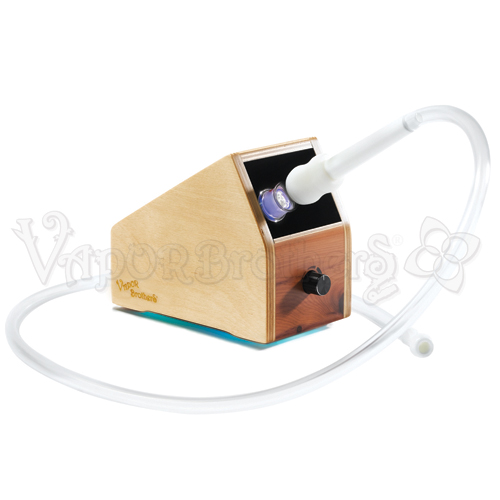International Voltage Vaporbrothers VB1 Vaporizer - Hands Free - 220v, With Hybrid EZ Whip 8789-White vaporbrothers vaporizer, vapor brothers hands free vaporizer, vapor bros, vaporbrothers, handsfree, box vaporizer